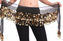 Load image into Gallery viewer, Crystal Sequins Coins Bellydance Belt