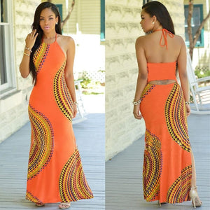New Fashion Boho Summer Halter Dress
