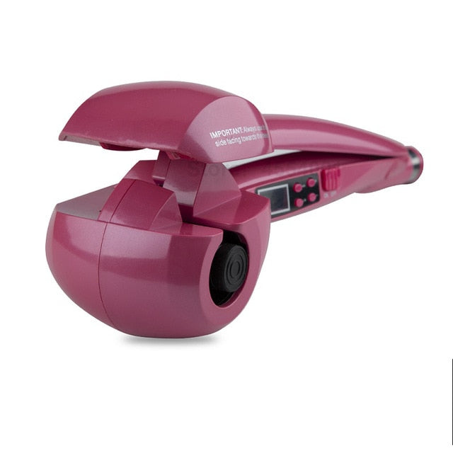 New LCD Screen Super Fast Automatic Hair Curler