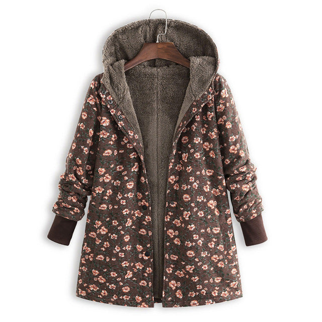 Estylo Newly Design Floral Print Winter Jacket