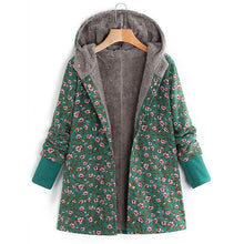 Load image into Gallery viewer, Estylo Newly Design Floral Print Winter Jacket