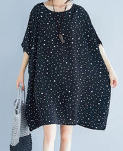 Load image into Gallery viewer, Russian Style Chiffon Slim Fit Polka Dot Top