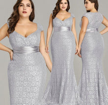 Load image into Gallery viewer, Elegant Mermaid Vintage Party Gown
