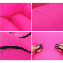 Load image into Gallery viewer, Portable fast inflatable lazy couch