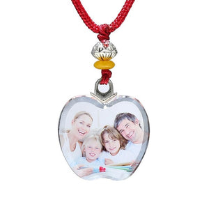 Personalized Photo Crystal Pendant