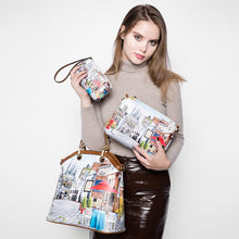Load image into Gallery viewer, PU Leather 3PC Printed Handbags