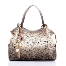 Load image into Gallery viewer, Ombre Floral Print Shoulder Bag