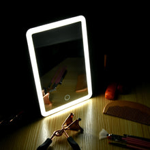 Load image into Gallery viewer, Rechargeable LED Touch Screen Makeup Mirror