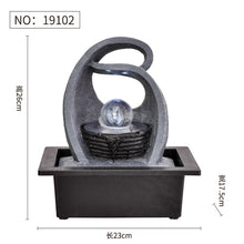 Load image into Gallery viewer, Resin Decorative Fountains Indoor Water Fountains