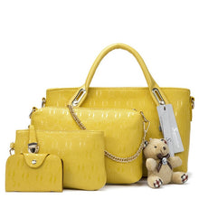 Load image into Gallery viewer, Famous 4in1 Women Handbags Set (New Arrival)