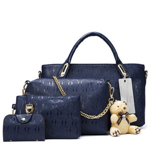 Famous 4in1 Women Handbags Set (New Arrival)