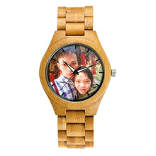 Load image into Gallery viewer, Photo Print Wooden Watch (Valentine Special)