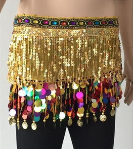 Estylo-New Gold Coin Dance Belt