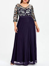 Load image into Gallery viewer, Estylo-Sequined Floral New Style Maxi