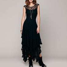 Load image into Gallery viewer, Layered Gothic Dress - Stylo Lovers