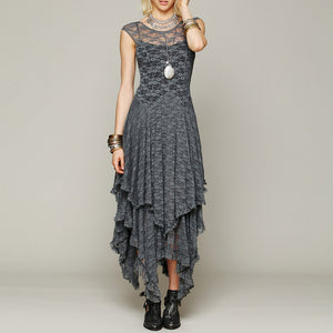 Layered Gothic Dress - Stylo Lovers