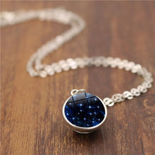 Load image into Gallery viewer, 3D UNIVERSE STAR GALAXY Necklace Women