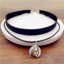 Load image into Gallery viewer, Custom Photo Pendant Necklace