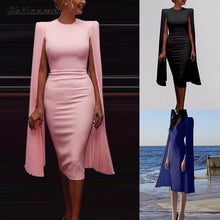 Load image into Gallery viewer, Hollywood Elegant Cape Sleeve