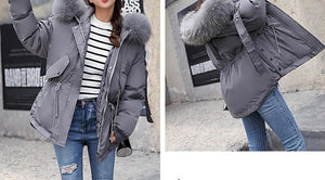 Hooded Winter Cotton Jacket