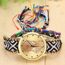 Load image into Gallery viewer, Leather Dreamcatcher Friendship Watch
