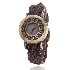 Antique Leather Bracelet Watches