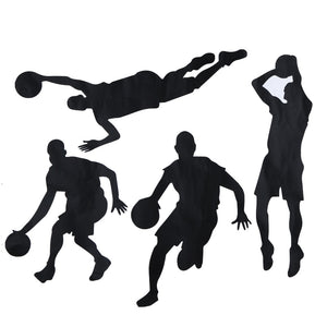 Basketball Inspirational Wall Sticker Quotes