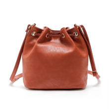 Load image into Gallery viewer, Leather Shoulder Tote Purse