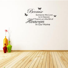 Load image into Gallery viewer, Heaven Quote Wall Art