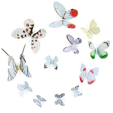 Load image into Gallery viewer, 3d butterfly wall decor stickers sticker