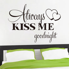 Load image into Gallery viewer, Goodnight Wall Sticker Quote