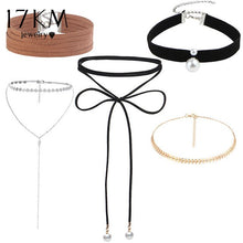 Load image into Gallery viewer, Leather Choker Most Popular
