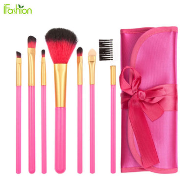 7Pc Super Cute Brushes Set with Pouch