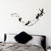 Load image into Gallery viewer, Happy Girl Dancing Wall Sticker