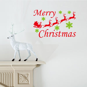 Christmas Decoration Decal 2019