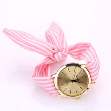 Load image into Gallery viewer, Fabric Strap Casual Bracelet Wrist Watch