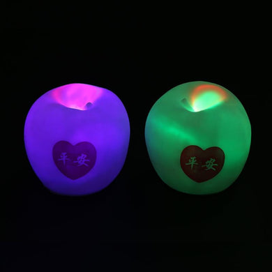 Colorful Apple Shape LED Night Light Color Changing Lamp