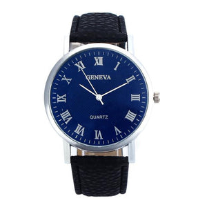 Women Men Band Analog Wrist Watch