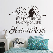 Load image into Gallery viewer, Husband and Wife Wall Art Sticker
