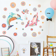 Load image into Gallery viewer, DIY Cartoon House Removable Wall Decal