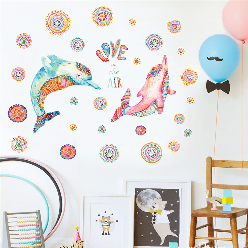 DIY Cartoon House Removable Wall Decal