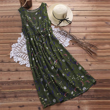 Load image into Gallery viewer, Casual Elegant Floral Print Dress