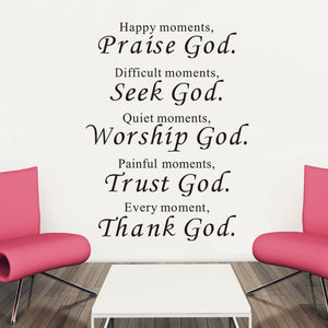 Bible Wall stickers home decor Sticker