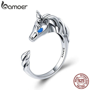 925 Sterling Silver Stunning Tail Finger Ring