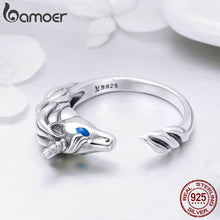 Load image into Gallery viewer, 925 Sterling Silver Stunning Tail Finger Ring