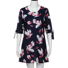 Load image into Gallery viewer, Casual Flower Party Dress
