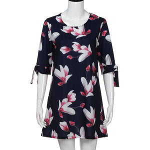 Casual Flower Party Dress