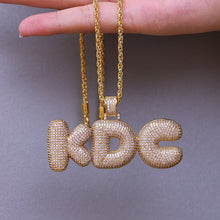 Load image into Gallery viewer, Custom Name Bubble Letters Pendant