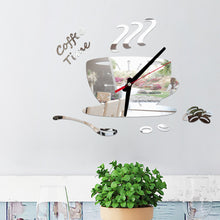 Load image into Gallery viewer, 3D Mirror Wall Sticker Decorative Clock
