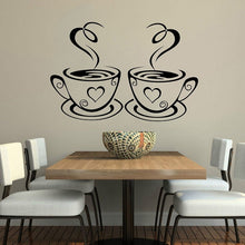 Load image into Gallery viewer, Coffee Wall Art Decal